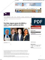 07-02-17 Partidos Siguen Pasos de AMLO y Salen a Hacer Política en EUA