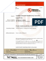 Ss-2232 Avv Nsf-Ansi Standard 61-4-16-07