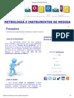 Metrologia e Instrumentos de Medida