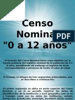 Censo Nominal 1ra SEM2013