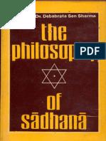 The Philosophy of Sadhana - Deb brata Sen Sharma.pdf