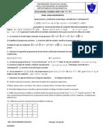 ''Guia de Examen Mat1100 Temas 1 y 2 Mat 1100 s, z