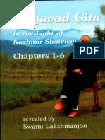 Swami Lakshmanjoo -Bhagavat Gita in the Light of Kashmir Shaivism