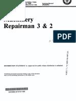 Machinery Repairman 3 & 2