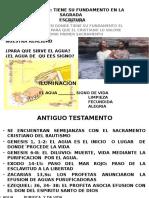 PresentaciónBAUTISMO FUNDAMENTO