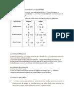 Estructura y Clasificación de Los Alcoholes y Fenoles