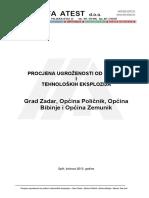 Puzop Grad Zadar, Opcine Policnik, Bibinje i Zemunik Donji