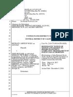 Wolf v Rickard Motion to Dismiss