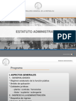 Estatuto administrativo 1
