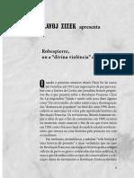 ZIZEK, Slavoj - Robespierre.pdf