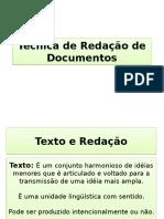 QUALIDADES e Defeitos de Um Texto