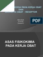 ASAS FISIKOKIMIA PADA KERJA OBAT FIX.pptx