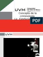 Concepto de La Criminología