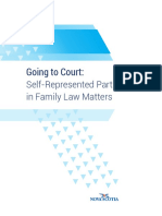 Probate Action Going to Court in Family Matter