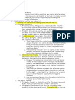 Chapter 1- An Introduction to Assurance and Financial Statement Auditing