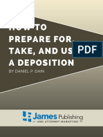 How to Prepare for Take and Use a Deposition