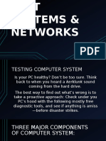 Test Systems and Networks