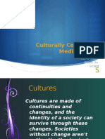 4a - Cultural Competence in Medicine Week 4a+ W17