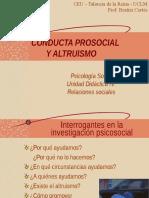 ALTRUISMO ,PSICOLOGIA SOCIAL