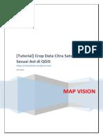 [Tutorial] Crop Data Citra Satelit Sesuai AoI Di QGIS