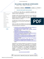 Derecho Mercantil Internacional ONU