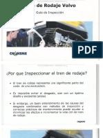 Manual Inspeccion Tren Rodaje Excavadoras Hidraulicas Volvo Partes Componentes Orugas Cadenas Medicion Desgaste