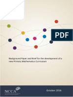 Maths Background Paper