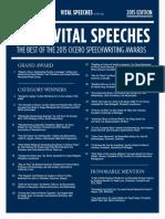 2015 CiceroAwardsWinners Speech