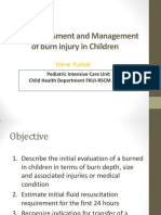 Burn Injury, What Are the Challlenges in Pediatric Patients (Dr. Irene Yuniar, SpA(K))