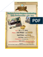 Mutiara Taman Negara 2nd Motor Hunt 2015 Entry Form