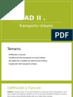 Expocion de sistemas de Trasnporte