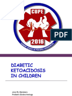 Management of Diabetic Ketoacidosis in Children (Prof. Dr. Dr. Jose R. L. Batubara, SpA(K))