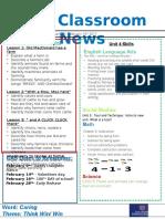week 21- kg2 newsletter