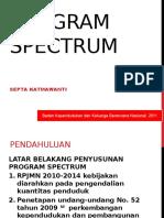 Pengantar Program Spectrum