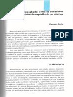 Cleomar Rocha - O Inerente e o Inacabado