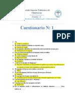 Cuestionarios de Tecnicas 06