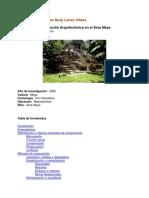 Criterios de Restauración Arquitectonica en El Area Maya