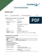 Msds Berol 260 Spanish
