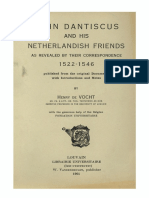 Humanistica Lovaniensia Vol. 16, 1961_JOHN DANTISCUS AND HIS NETHERLANDISH FRIENDS_AS REVEALED BY THEIR CORRESPONDENCE 1522-1546.pdf