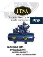 Itsa Manual de Instalacion Compresor