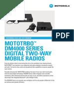 Dm4000series Spec Sheet