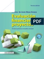 Evaluacion Financiera de Proyectos