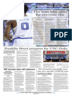 The Daily Tar Heel for Feb. 9, 2017