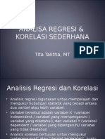 Teori Prob Analisa Regresi Korelasi Sederhana MG5