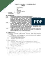 RPP 1 Konsep Dasar Ekonomi