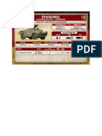 Team Yankee - Unit Card - Volksarmee - Spandrel Panzerabwehrzug