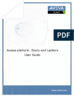 Access Platforms Stairs and Ladders User Guide