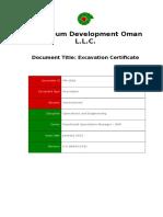 PR-1002 - Operations Excavation Procedure.doc