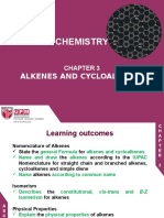 Chapter3-Alkenes and Cycloalkenes