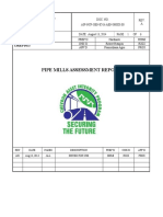 Pipe mill Assessment Report 13-08-14-RevA.doc